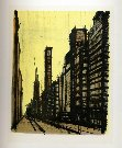 Bernard BUFFET : New York VIII