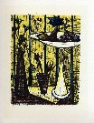 Bernard BUFFET : Le plat � fruits