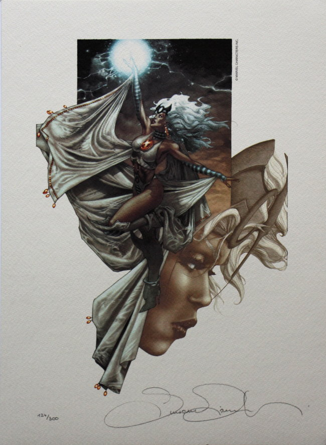 Simone Bianchi Fine Art Print Storm Signed And Numbered