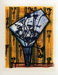 Reproduction Bernard Buffet, Fleurs