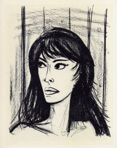 Reproduction Bernard Buffet, Rita 1