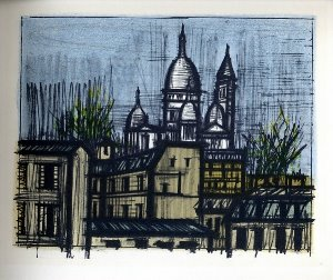 Reproduction Bernard Buffet, Paris : Le Sacré-Coeur