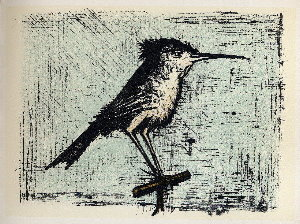 Reproduction Bernard Buffet, L'hirondelle de mer