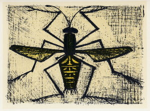 Reproduction Bernard Buffet, Abeille