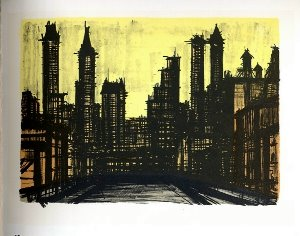 Reproduction Bernard Buffet, New York III
