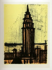 Reproduction Bernard Buffet, New York IV