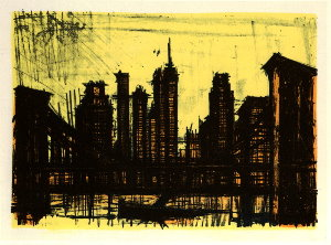 Reproduction Bernard Buffet, New York VI