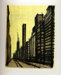 Reproduction Bernard Buffet, New York VIII