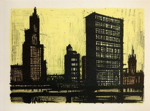 Reproduction Bernard Buffet, New York IX