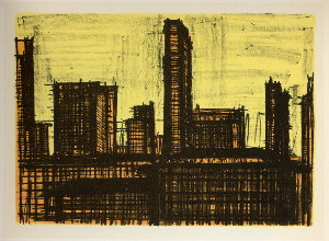 Reproduction Bernard Buffet, New York X