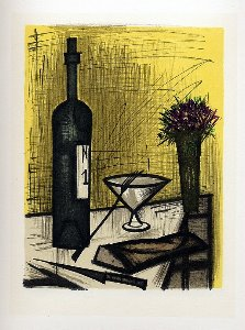 Reproduction Bernard Buffet, Pain et vin