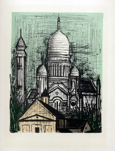 Reproduction Bernard Buffet, Le Sacré-Coeur