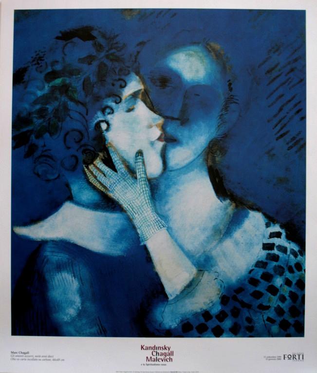 Resultado de imagen para amantes chagall