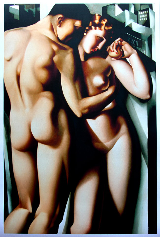 Tamara De Lempicka poster print, Adam and Eve, 1932