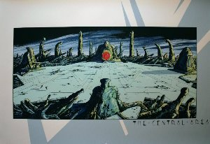 Sérigraphie Philippe Druillet, The Central Area