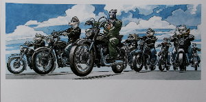 Stampa Juanjo Guarnido : Les bikers