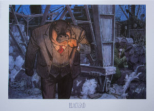 Stampa Juanjo Guarnido : Blacksad, Dockers