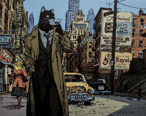 Stampa Juanjo Guarnido : Blacksad, New York ...