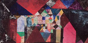 Affiche Paul Klee, Municipal Jewel, 1917