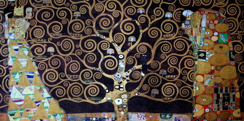 Gustav KLIMT : The tree of life, 1909 (brown) : Reproduction, Fine ...