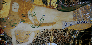 Affiche Gustav Klimt, Sea Serpents II, 1907