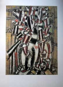 Stampa Fernand Léger, Le balcon