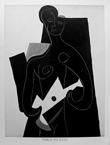 Stampa Picasso, Woman with Guitar, 1924
