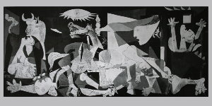 Pablo Picasso poster, Guernica (1937)