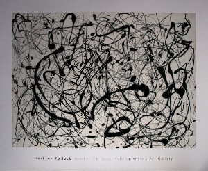 Affiche Pollock, Number 14 : Gray