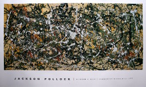 Affiche Pollock, Number 8, 1949