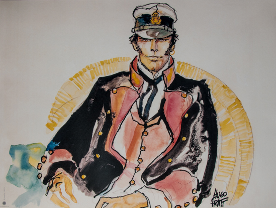 Hugo Pratt Art print, Corto Maltese : The Ballad of the Salty Sea