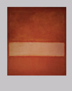 Mark Rothko poster, Untitled n°11