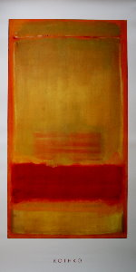 Mark Rothko poster, Untitled, 1949