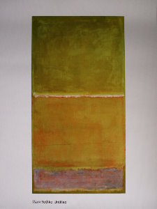 Mark Rothko poster, Untitled 1951-1952
