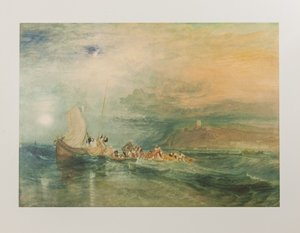 Affiche William Turner, Folkestone from the Sea, 1922-4
