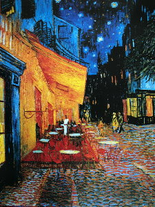 Vincent Van Gogh print, Cafe Terrace at night, 1888