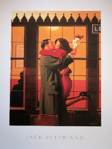 Affiche Jack Vettriano, Back Where You Belong