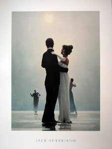 Affiche Jack Vettriano, Dance me to the end of love