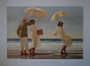 Affiche Jack Vettriano, The Picnic Party