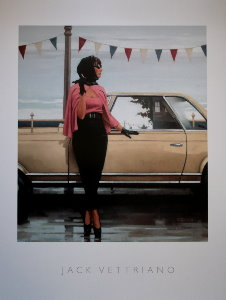 Affiche Jack Vettriano, Suddenly One Summer