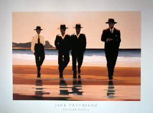 Affiche Jack Vettriano, The Billy Boys
