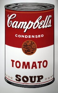 Stampa Warhol, Soupe Campbell