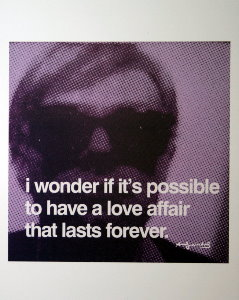 Stampa Warhol, a love affair that lasts forever