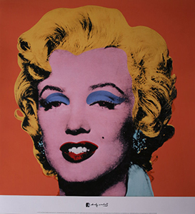 Stampa Warhol, Marilyn MONROE - Shot Orange Marilyn, 1964