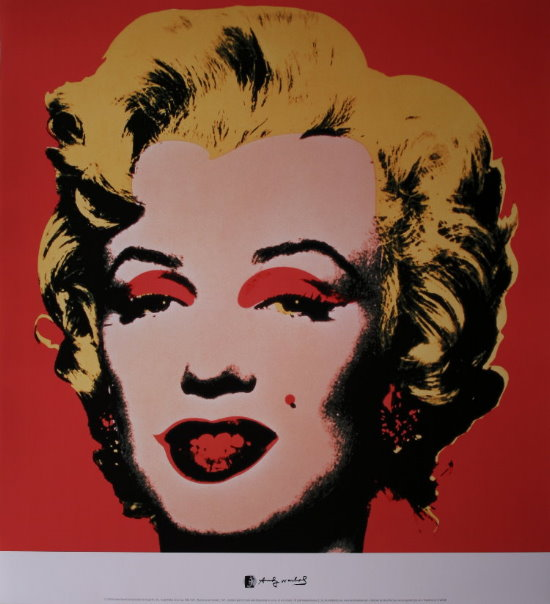 Lámina Andy Warhol, Marilyn Monroe - (Red) 1967