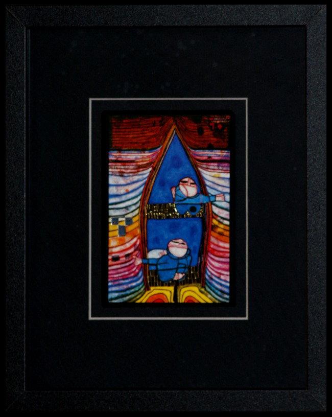 Cuadro Friedensreich Hundertwasser : Tender Dinghi, Reproducción ...
