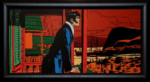 Corto Maltese framed poster : Corto Myst�re