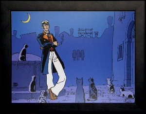 Corto Maltese framed poster : Corto Th��tre