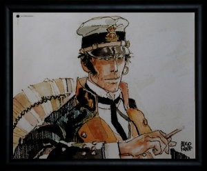 Corto Maltese framed poster : Les �thiopiques