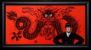Corto Maltese framed poster : Mythologie